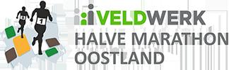 Het logo van de Veldwerk Halve Marathon